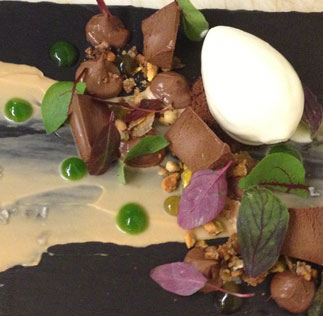 BRINE chocolate 3 ways